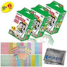 Fujifilm Instax Mini Instant Film -60 SHEETS- For Mini 8 & 9 Cameras + Stickers