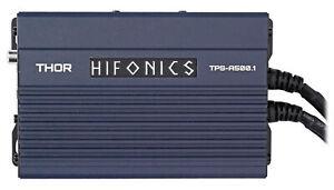 Hifonics TPS-A500.1 500w Mono Marine Sub Amplifier For Polaris RZR/ATV/UTV/Cart