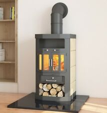 EEK A Kaminofen SK-TEK Favorit 2KX, dauerbrandfähig – 10kW Kamin Ofen Werkstatt