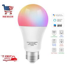 Smart LED Bulb WiFi Multicolor Light Bulb Compatible with Alexa, Google HomeRGBW