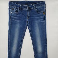 G-Star Lynn Skinny WMN 60367 W32 L34 blau blue Damen Designer Denim Jeans Hose