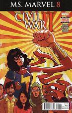 Ms Marvel #8 (NM)`16 Wilson/ Miyagawa  (Cover A)