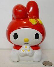 My Melody Piggy Bank Ceramic Sanrio 2007 !!! RARE Hello Kitty