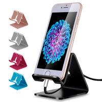Universal Aluminum Phone Desk Table Desktop Stand Holder For Cell Phone Tablet R