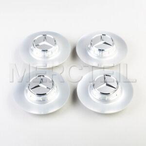 4 x Genuine Center Hub Caps for Mercedes / Maybach W222 wheels A22240023007X23