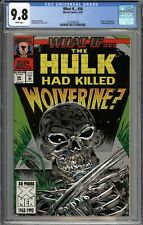 WHAT IF... #50 The Hulk Had Killed Wolverine CGC 9.8 NM/MT Death of Wolverine WP