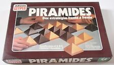 Vintage Geyper Pyramids Table Strategy Game Piramides English Rules Complete