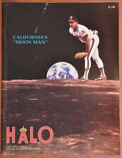1989 California Angles Toronto Blue Jays Baseball Program Unscored Scorecard