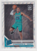 2019-20  P.J. Washington Optic Silver Wave Prizm Basketball Rookie Card # 152