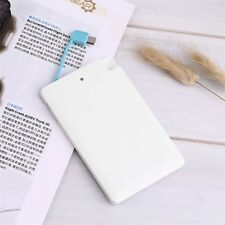 Ultra Slim Portable 1500mAh External Battery USB Power Bank For Cell Phone UL