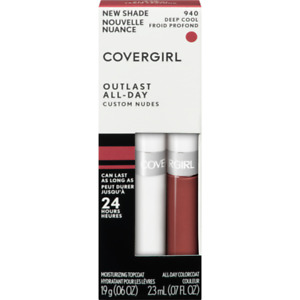 Covergirl Outlast All-Day Custom Nudes Lipcolor, 940 Deep Cool