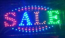 """New listing Sale store neon sign 19X10"""" indoor ultra bright flashing led beauty display"""