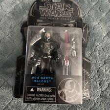 "Star Wars The Black Series Darth Malgus Figure 3.75"" New The Old Republic #04"
