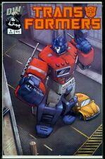 DW Comics TRANSFORMERS #1 Vol 1 Preview NM 9.4