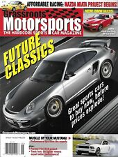 Grassroots Motorsports Car Magazine Future Collectibles Projects Miata and 818
