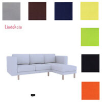 Custom Made Cover Fits IKEA Norsborg Sofa Sectional with Chaise, Replace Cover
