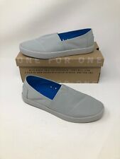 Toms Avalon Size 8 Men's Slip On Loafer Sneaker Shoes - New With Defects