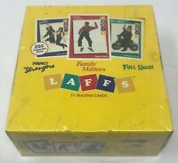 1991 LAFFS TV Trading CARD BOX Sealed Family Matters FULL HOUSE Perfect Stranger
