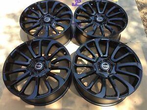 "22"" Range Rover Autobiography Wheels HSE Sport Land Rover Gloss Black Rims"