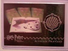 Harry Potter-POA-Up-Movie-Authentic-Prop Card-Unfogging the Future-Book