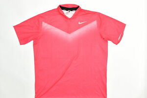 Nike Golf Men's Adult Size 2XL Polo Dri-fit Pink