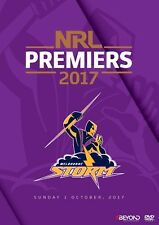 115038 MELBOURNE STORM 2017 NRL PREMIERS GRAND FINAL DVD VIDEO OF FULL MATCH
