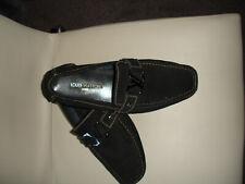 Authentic louis vuitton Black moccasin Size 44
