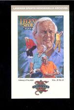 1993 Legends Magazine ARNOLD PALMER Golf Jumbo Cover Insert Card