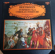 Chicago Symphony Orchestra - Beethoven, Symphony No. 5 / Coriolan Overture (LP)