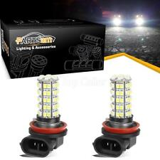 Pack2 6000K White H8 64212 68-3528-SMD LED Aluminum Bulb Fog Light Lamp Driving