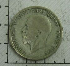 GREAT BRITAIN UK COINS, ONE FLORIN 1930, GEORGE V  MONEDA  PLATA
