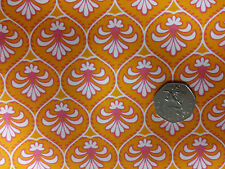 Gutermann French Cottage Indian summer orange 100%cotton,1.25 metre, free p&p,