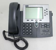 CISCO SYSTEMS 7960 5-Inch LCD Business Speaker Telephone VOIP Unified IP