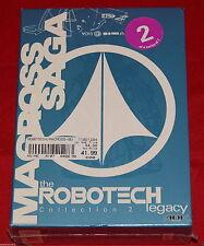 Robotech Legacy - Vol. 2: The Macross Saga (DVD, 2001, 3-Disc Set) R1 BRAND NEW