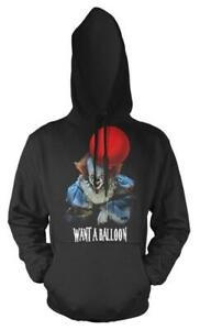 IT Clown Want A Balloon Pennywise Adult Hoodie