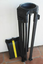 Sachtler CF-100L Long Carbon Fiber Tripod Legs - 100mm