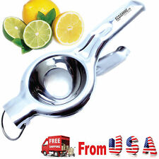 Super Heavy Duty JUMBO SIZE Food Grade Stainless Steel Lemon Juicer Squeezer