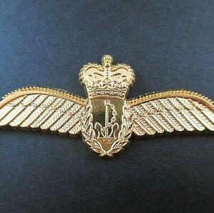 GENUINE  ROYAL AUSTRALIAN NAVY PILOTS AVIATOR WINGS BADGE                    -01