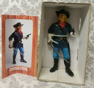 COMANSI The Wild West, Vintage Toy Action Figure PVC - GENERAL CUSTER 1839 -1878