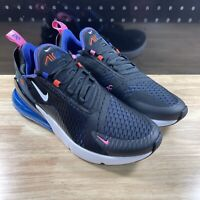 NEW NIKE AIR MAX 270 MENS SZ 10.5 BLACK BLUE WHITE DC1858-001