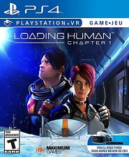 PLAYSTATION 4  VR  LOADING HUMAN CHAPTER 1 BRAND NEW VIDEO GAME