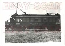 8G705 (2)  RP 1940s PACIFIC ELECTRIC RAILROAD MofW WEED BURNER CAR #00195