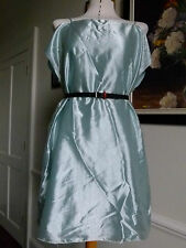 Emporio Armani mint green off the shoulder tunic dress top IT size 42 UK size 10