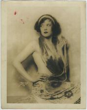 Risqué Jazz Baby Flapper Showgirl 1920s Original DeBarron Studios Photograph