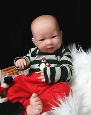"17"" Reborn Baby Dolls Vinyl Silicone Boy Lifelike Newborn Birth Gift Toddler"