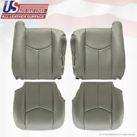 2003 To 2006 Chevy Tahoe Upholstery leather seat cover Replacement Gray 922