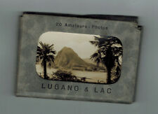20x vintage photographs of  Lugano & Lac (maybe 1930s/40s) in folder
