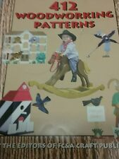 412 Woodworking Patterns  AS NEW  (Paperback, 2001)