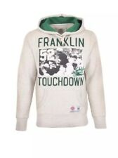 Franklin et Marshall Homme Touchdown Hoody-Gris-XS-RRP £ 85-VENTE * Bnwt *