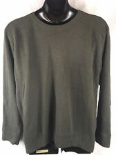 Levis Green Crewneck Sweater Clothing 100% Cotton Size XXL